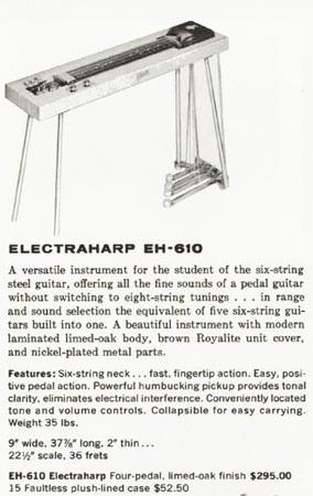 Electraharp EH 610